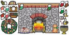 Scholastic Teachers Friend Home and Holiday Hearth! Bulletin Board TF3023
