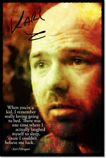 KARL PILKINGTON ART PHOTO PRINT POSTER SLEEP QUOTE