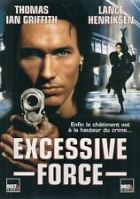 AFFICHE PROMO VIDEO CLUB--EXCESSIVE FORCE--IAN GRIFFITH/HENRIKSEN