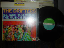 RARE-THE DRIFTERS-I'll Take You Where The Music's Playing-1965 atlantic-SD-8113