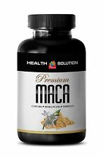 Male Enhancers Pills - Premium Maca 1300mg - Organic Ginger Root 1B