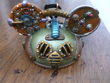 LE Mickey Mouse Ornament - Steampunk Ear Hat - Green - 0470/2400