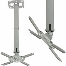 Universal Ceiling TV & Projector Bracket -Home Cinema Mount Slim Full Tilt Stand