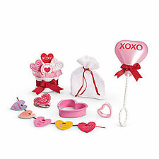 American Girl MY AG FRIENDS ARE SWEET SET Heart Cookie Bouquet Balloon NEW