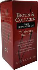 Biotin & Collagen-Hair treatment thickening oil - 50ml