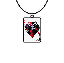 Batman Harley Quinn DC Comics Costume Cosplay Neck Pendant Necklace LICENSED NEW