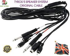 Original Yamaha Tyros 5 TRS-MS05 Speaker system Woofer Cable WV397600 NEW UK