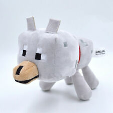 New Minecraft Animal Plush Toys Stuffed animals Soft Doll - Wolf Christmas gifts