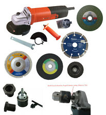 Combo Deal of 4inch 100mm HeavyDuty Angle Grinder Machine with Drill Chuck