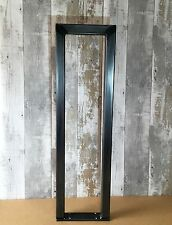 2 X Handmade Raw Steel Tall Console Table Upcycle Legs Industrial Style