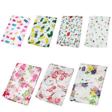 New Floral Waterproof Washing Machine Zippered Dust Cover Protection Durable MT