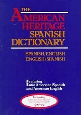 The American Heritage LaRousse Spanish Dictionary - SpanishEnglish - E-ExLibrary