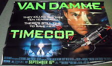 "1994 ADVANCE *TIME COP* HUGE MOVIE POSTER 44x60"" JEAN CLAUDE VAN DAMME WH-11"