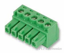 PHOENIX CONTACT   1803604   TERMINAL BLOCK, PLUGGABLE, 5POS, 16AWG