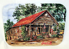 "1998 COCA COLA JEANNE MACK ""THE OLD SAUTEE STORE"" TRAY SIGNED BY THE ARTIST NOS"