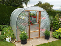 10ft x 15ft New Concept Polytunnel greenhouse allotment garden tunnel tunnels