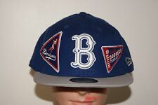 New Era Brooklyn Los Angeles Dodgers World Series Blue Hat 7 1/4 3/8 1/2 3/4