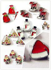 LOT 10 pieces Christmas  floating charms for living locket free shipping FC321