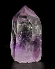 """1.8"""" Wispy AMETHYST PHANTOM in Clear QUARTZ Crystal Brandberg Namibia for sale"""