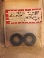 NOS Slot Car BuzCo 1/24 Foam Rubber Drag Slicks #406