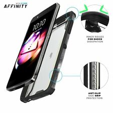 POETIC Affinity Premium Thin/Clear Case Cover for ALCATEL OneTouch Idol 4 Black
