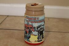 TRANSFORMERS  PLASTIC LUNCHBOX THERMOS ALADDIN- 1984