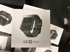 OB LG G Watch LG-W100 Android Wear Smartwatch - Black Titan
