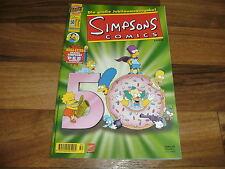 SIMPSONS COMICs  #  50   --   mit ABO-Karte als Beilage // 1. Auflage 2000 / TOP