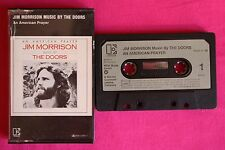 Rare K 7 / Cassette / Jim Morrison Music By The Doors ‎– An American Prayer