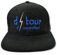 CLINT BLACK D-TOUR GREEN BILL BLK SNAPBACK BASEBALL CAP HAT NEW OFFICIAL OS