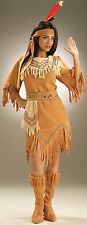 Womens Native American Indian Maiden Costume  Adult Size Standard