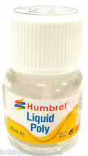 Humbrol Liquid Poly Cement Polystyrene Glue Adhesive Airfix Glue Model Glue 28ml