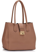 Designer Ladies Handbags Women's Faux Leather Shoulder Bags Tote Grab Bag 450