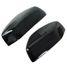 Gloss Black door wing Mirror Cover caps Land Rover Freelander 2 LR2 accessories
