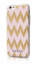 Genuine GUESS chevron effet 3D case cover pour iPhone 6 6s 4.7""