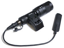 Tactical Flashlight IFM CAM Scout Weaponlight With Rigid Light Mount(Black)