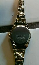 Geneva 14K GOLD THICK BAND WATCH GP25SG Wrist Watch for Women