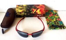 MAUI JIM HOOKIPA MJ-407 201C POLARIZED SUNGLASSES Sport Travel Boating Beach NIB