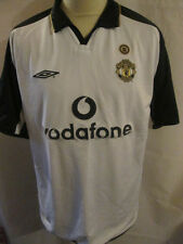 Manchester United Centenary 2001-2002 Away 3rd Football Shirt Extra Large /34175