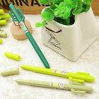 5Pcs/Lot Cute Cactus Design Gel Pen Office & School Fashion Gift Wholesale