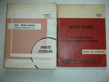 WABCO 444 Motor Grader PARTS Catalog & Operation Maintenance Shop Service Manual