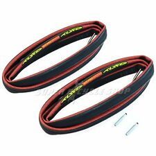 "TUFO S33 PRO Bike Tubular Tire,28"" x 21mm / 700C x 21 W/Valve Extender, 2 pcs"