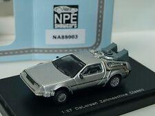 NPE DeLorean ZEITMASCHINE, silber - 88003 - 1/87