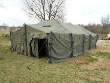 MILITARY TENT  TRUCK TARP  MGPTS  MEDIUM  18x36  GP  ARMY  SURPLUS  M.G.P.T.S.