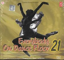 EVERYBODY ON DANCE FLOOR 21 - NEW FILM REMIX SONGS 2CDs SET - FREE UK POST