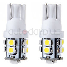 2X T10 White T15 921 168 10SMD LED Backup Reverse Wedge Light for 2003-16 Toyota