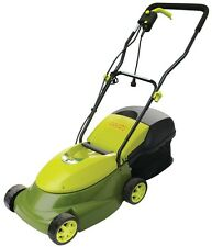 NEW! Sun Joe MJ401E Mow Joe 14-Inch 12 Amp Electric Lawn Mower with Grass Bag