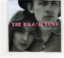 (HF465) The Hamiltons, Paranoid - 2015 DJ CD