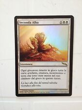 MTG SECONDA ALBA FOIL - SECOND SUNRISE  FOIL - MIRRODIN  NEAR MINT ITALIANO