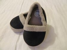 Toddler Boys Sweet Dreams Bedroom Shoes Size S NWOT Navy Blue & Tan COMFY & CUTE